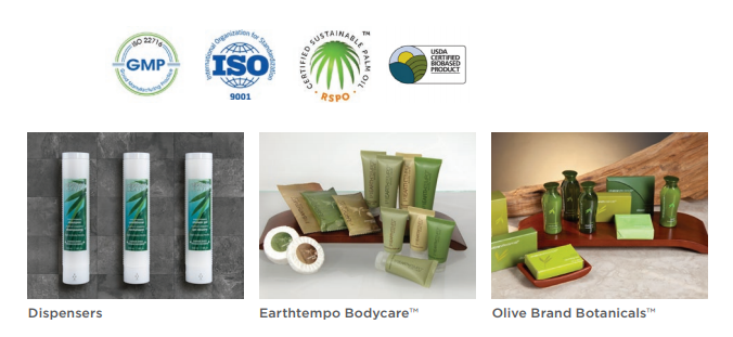 sustainable personal care amenities